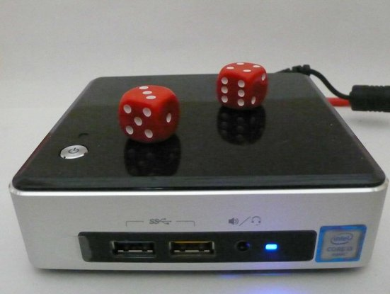 Intel NUC (NUC6i3SYK with 32GB Ram and a 256GB SSD)